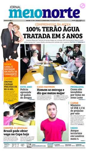 Jornal Meio Norte do dia 23-03-2017