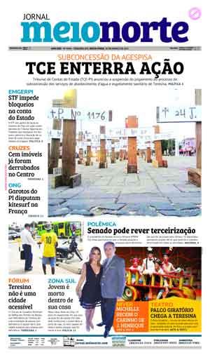Jornal Meio Norte do dia 24-03-2017