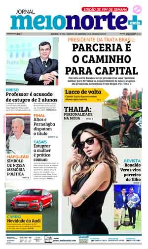 Jornal Meio Norte do dia 25-03-2017