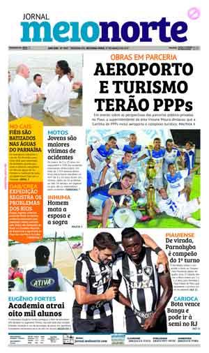 Jornal Meio Norte do dia 27-03-2017