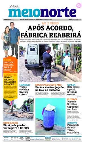 Jornal Meio Norte do dia 28-03-2017