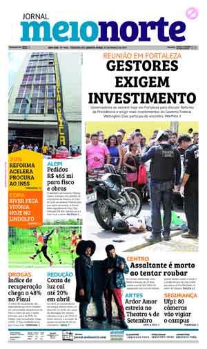 Jornal Meio Norte do dia 29-03-2017