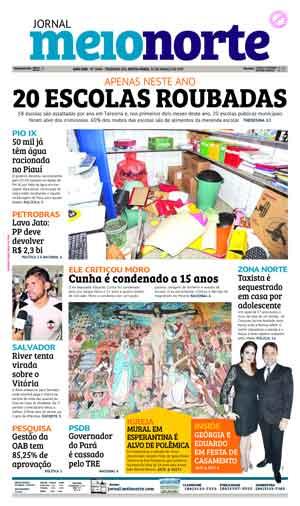 Jornal Meio Norte do dia 31-03-2017
