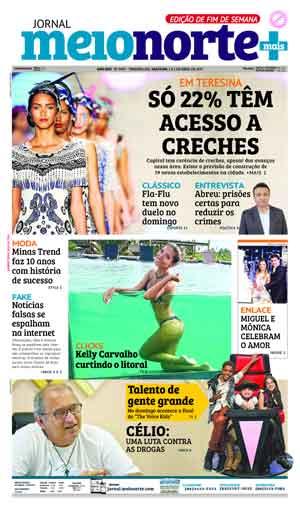Jornal Meio Norte do dia 1-04-2017