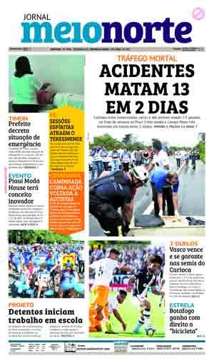 Jornal Meio Norte do dia 3-04-2017