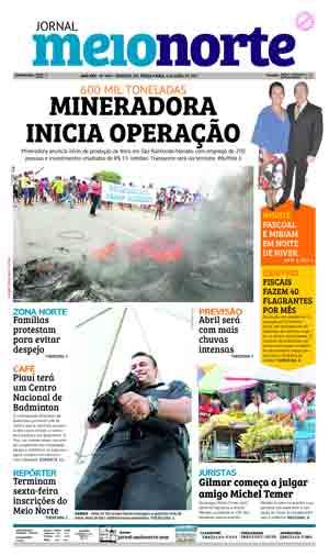 Jornal Meio Norte do dia 4-04-2017