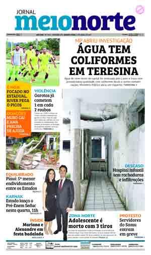 Jornal Meio Norte do dia 5-04-2017