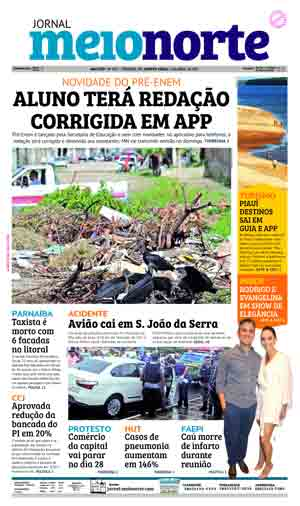 Jornal Meio Norte do dia 6-04-2017