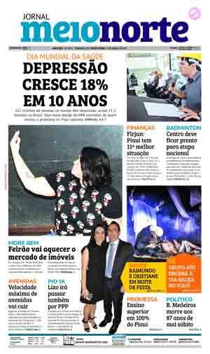 Jornal Meio Norte do dia 7-04-2017