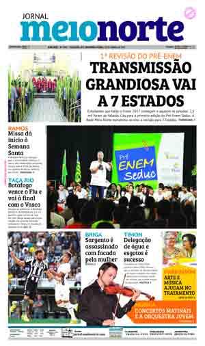 Jornal Meio Norte do dia 10-04-2017