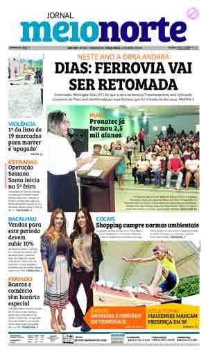 Jornal Meio Norte do dia 11-04-2017