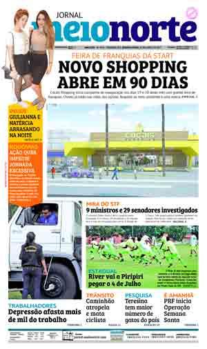 Jornal Meio Norte do dia 12-04-2017