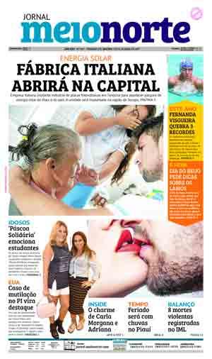 Jornal Meio Norte do dia 13-04-2017