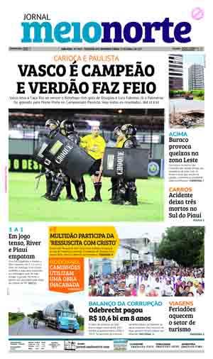 Jornal Meio Norte do dia 17-04-2017