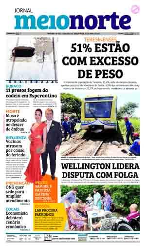Jornal Meio Norte do dia 18-04-2017