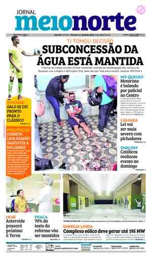 Jornal Meio Norte do dia 19-04-2017