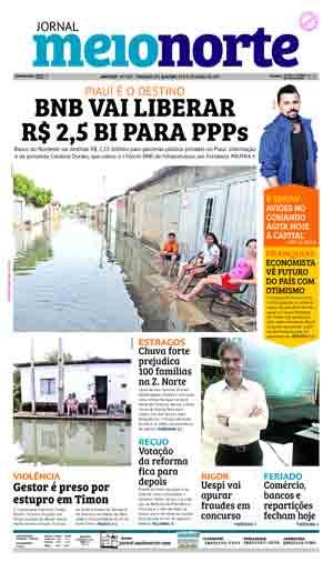 Jornal Meio Norte do dia 20-04-2017