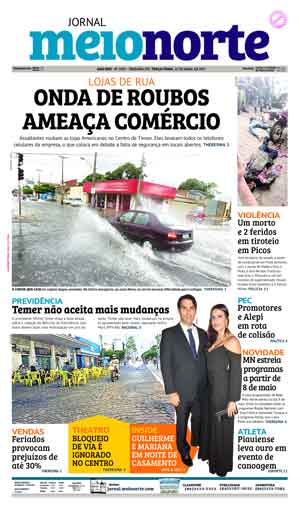 Jornal Meio Norte do dia 25-04-2017