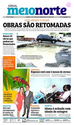 Jornal Meio Norte do dia 26-04-2017