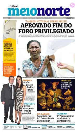 Jornal Meio Norte do dia 27-04-2017