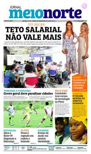 Jornal Meio Norte do dia 28-04-2017