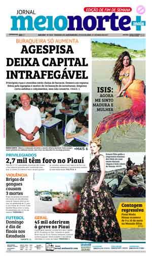 Jornal Meio Norte do dia 29-04-2017