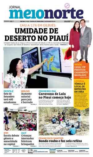 Jornal Meio Norte do dia 1-09-2017