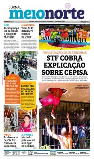 Jornal Meio Norte do dia 8-09-2017