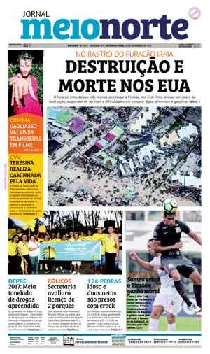 Jornal Meio Norte do dia 11-09-2017