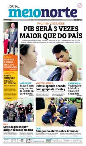 Jornal Meio Norte do dia 12-09-2017