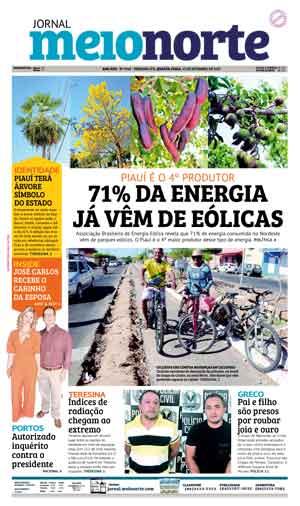 Jornal Meio Norte do dia 13-09-2017