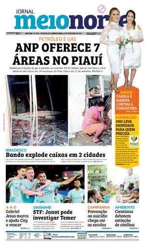 Jornal Meio Norte do dia 14-09-2017