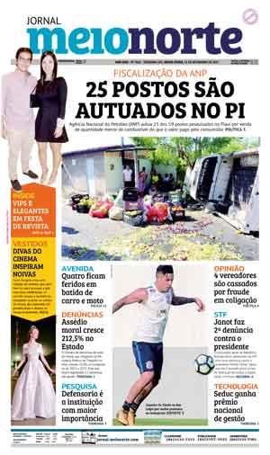 Jornal Meio Norte do dia 15-09-2017