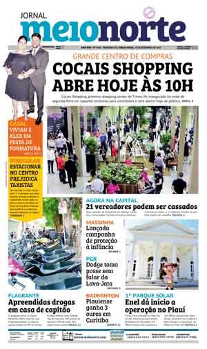 Jornal Meio Norte do dia 19-09-2017