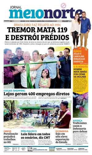 Jornal Meio Norte do dia 20-09-2017