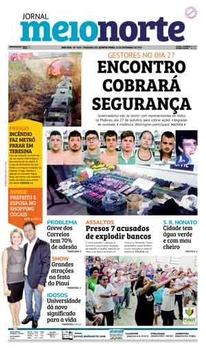 Jornal Meio Norte do dia 21-09-2017