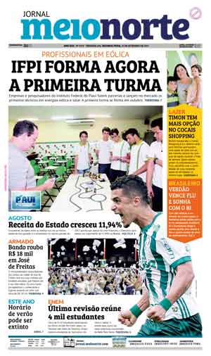 Jornal Meio Norte do dia 25-09-2017