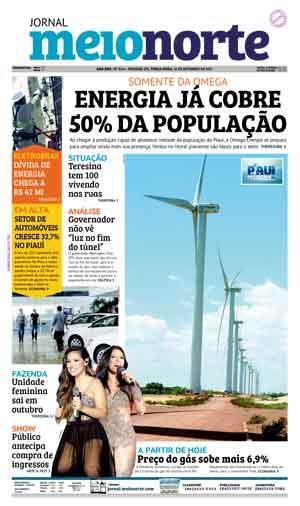 Jornal Meio Norte do dia 26-09-2017