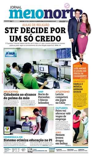 Jornal Meio Norte do dia 28-09-2017