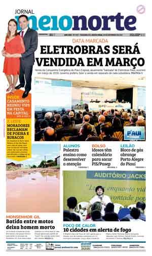 Jornal Meio Norte do dia 29-09-2017