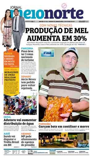 Jornal Meio Norte do dia 4-10-2017