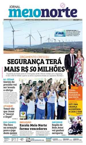 Jornal Meio Norte do dia 5-10-2017