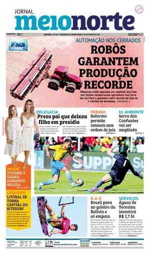 Jornal Meio Norte do dia 6-10-2017