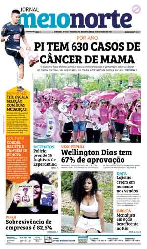 Jornal Meio Norte do dia 9-10-2017