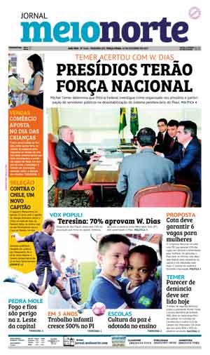Jornal Meio Norte do dia 10-10-2017