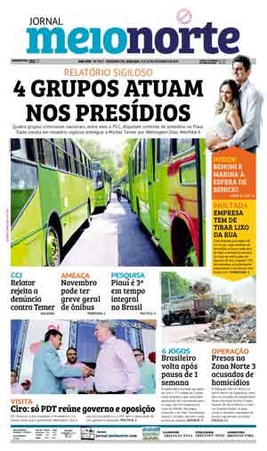 Jornal Meio Norte do dia 11-10-2017