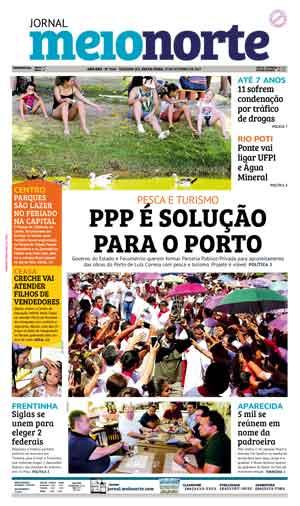 Jornal Meio Norte do dia 13-10-2017