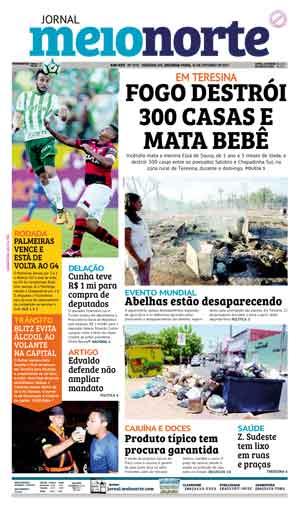 Jornal Meio Norte do dia 16-10-2017