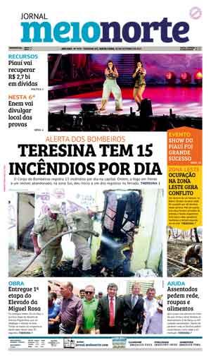 Jornal Meio Norte do dia 20-10-2017