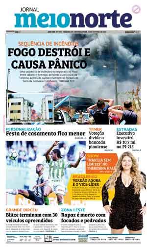 Jornal Meio Norte do dia 23-10-2017